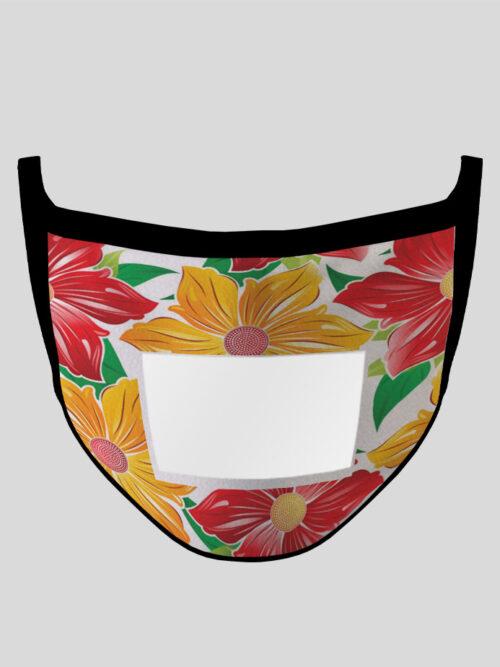 Mask_Communicator_Rainbow-Flowers